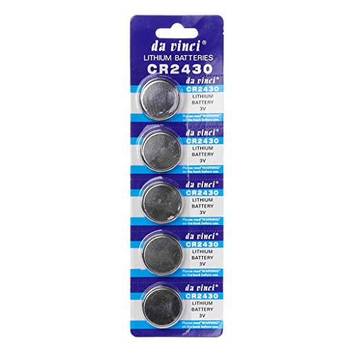 pfzellen CR2430 Lithium-Batterie 3V rund Knopfzelle Batterie für Uhren Uhren Controller Spielzeug DL2430 BR2430 ECR2430 KL2430 EE6229 Alkaline Batterie ()