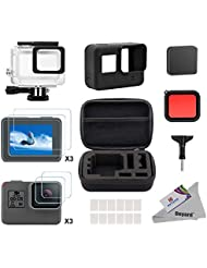 Deyard® 25in 1Gopro Hero 5Accessory Bundle Kit with Shockproof Small Case for GoPro Hero Action Camera