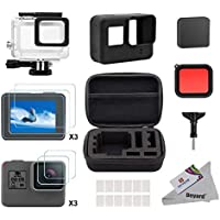 Deyard 25 in 1 kit di accessori per GoPro Hero 7 Hero (2018) GoPro Hero 6 Hero 5 con piccolo kit custodia antiurto per GoPro Hero GoPro Hero 6 Hero 5 Action Camera
