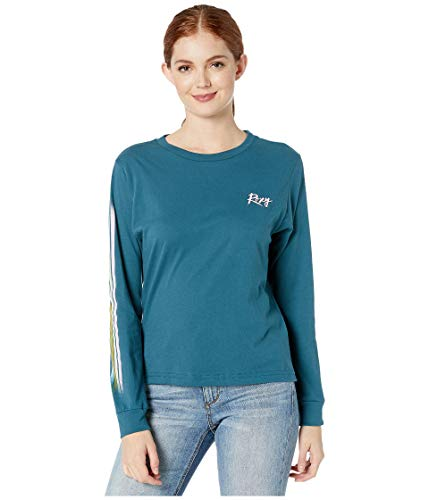 Roxy Womens Day Trail Vintage Ls Dragonfly Shirts Size (Langarm-t-shirt Roxy Frauen)