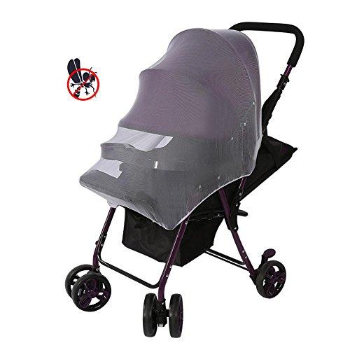 Universal Insektenschutz, Full Cover Baby Moskitonetz Infant Insektenschutz Buggy Kleinkinder Baby Safe Mesh Kinderwagen Displayschutzfolie - Reisebett Cover Mesh