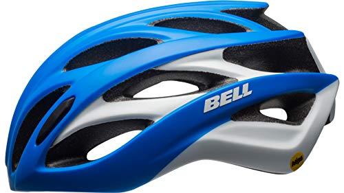 Bell Unisex - Adultos Overdrive MIPS Casco de Bicicleta Mate Force Azul/Blanco M