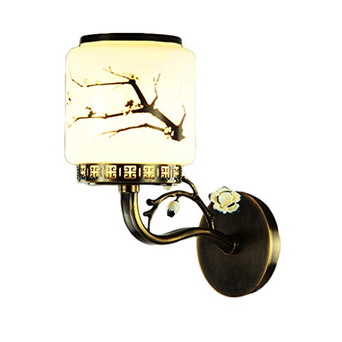 Américain Moderne Cuivre Art Forme E27 Mur Lampe Chambre Hôtel Chambre Foyer Couloir Allée Éclairage UOMUN