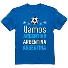 Green Turtle T-Shirts Camiseta para niños - Apoya a la Selección Argentina en el