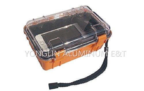 YONGLINLVDIANKEJI Wasserdichte Box 190 x 128 x 79 mm Handy Wasserdichte Tasche/kleine Präzisions-Werkzeugkiste/Akupunktur-Werkzeugkiste/Miniatur-Ausrüstungsbox