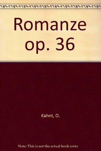 Romanze: op. 36. Bandoneon. (Mechanical Engineering)