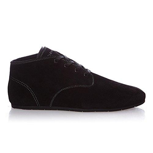 Eleven Paris Basuede Ii, Sneakers Hautes homme Noir (Black)