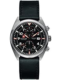 Swiss Military Hanowa 6-4227.04.007 - Reloj de cuarzo , correa de cuero color negro
