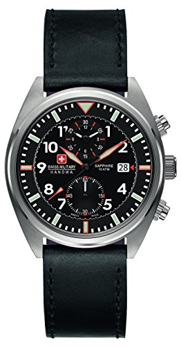 Swiss Military Hanowa Herren-Armbanduhr Analog Quarz 06-4227.04.007