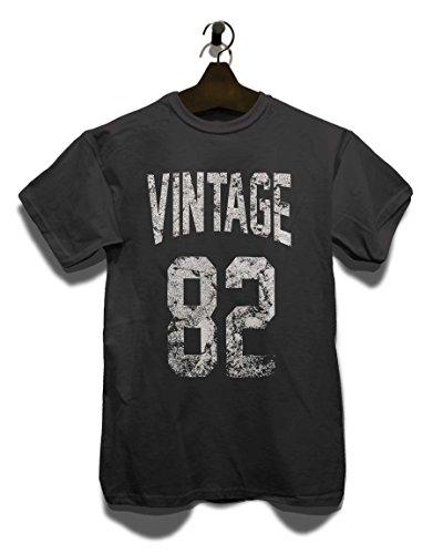 Vintage 1982 T-Shirt Grau