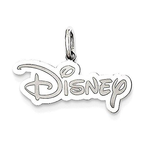 Argento Disney Logo Charm