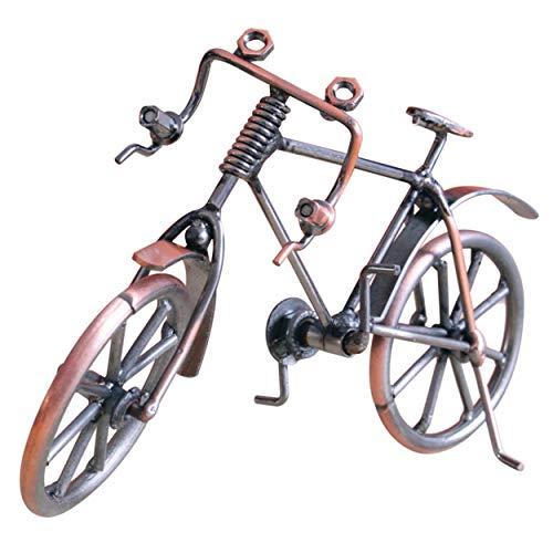 Losenlli Antiguo modelo bicicleta metal artesanía