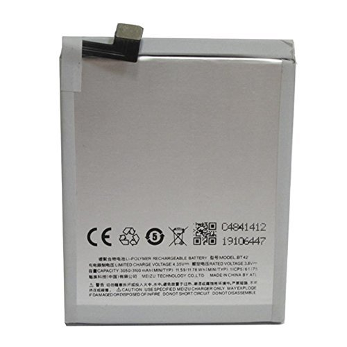 Bateria MEIZU M2 NOTE, METAL BT 42 BT42 3100 mAh voltaje 3.8v High quality