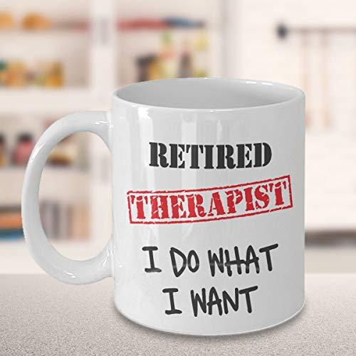 Psychotherapeutin Pensions-Geschenk, lustiger Gag Ruhestand Pension Psychologen Geschenk