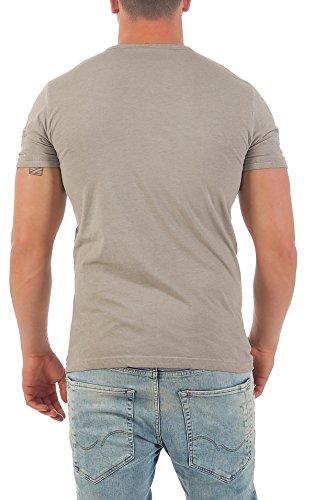 ... Violento Herren T-Shirt Freizeitshirt Polo Hemd Kurzarm Shirt  Sportswear Casual Vintage Washed 3065 3122