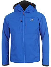 Karrimor Mens Alpiniste Soft Shell Jacket Ventilation Pockets Hooded Lined