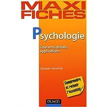 Psychologie : Courants, débats, applications