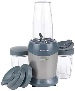 Salter EK2002SILVER Nutri Pro Super Charged Multi-Purpose Nutrient Extractor Blender, Silver