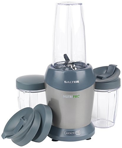 Salter EK2002SILVER Nutri Pro Super Charged Multi-Purpose Nutrient Extractor Blender, Silver