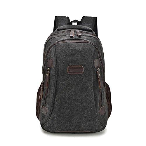 SZH&BEIB Unisexsegeltuch-Rucksack beiläufige Art und Weise im Freien Travel Gear Schule und Beruf Laptop-Tasche C
