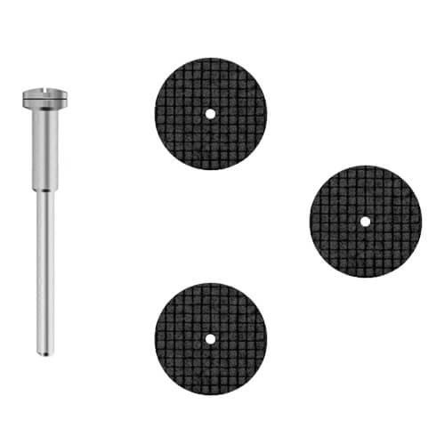 Preisvergleich Produktbild 3x Trennscheibe 'Diamant' fiberglasverstärkt [Ø 20 x 0, 3 mm] für Dremel,  Proxxon ...