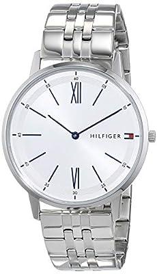 Tommy Hilfiger Reloj Analógico para Hombre de Cuarzo con Correa en Acero Inoxidable 1791511