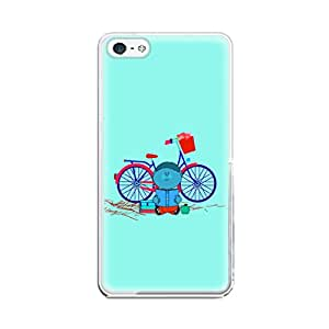 Skintice Designer Soft Case with direct printing for iPhone 5/5S