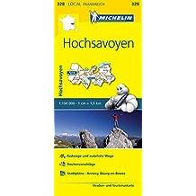Michelin Hochsavoyen: Straßen- und Tourismuskarte 1:150.000 (MICHELIN Localkarten)