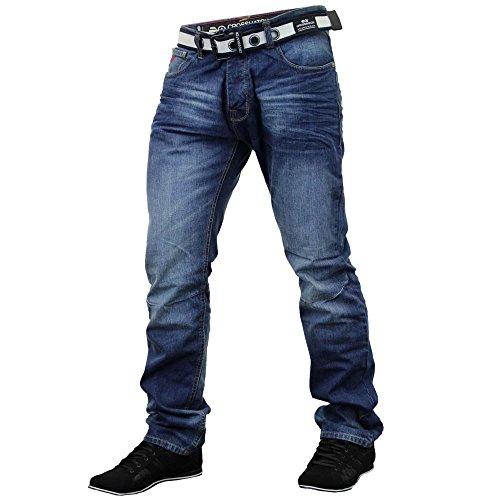 Jeans Crosshatch New Embossed Techno SW Mitte Waschen
