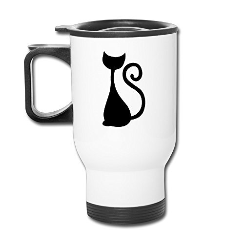 Cat Mysterious Cat Elegant Mugs Travel Coffee Mug Funny Coffee Cup