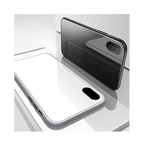 Knlona Tempering Glas Metall Magnetische Schutzhülle Hülle Case Handyhülle Kompatibel für Huawei...