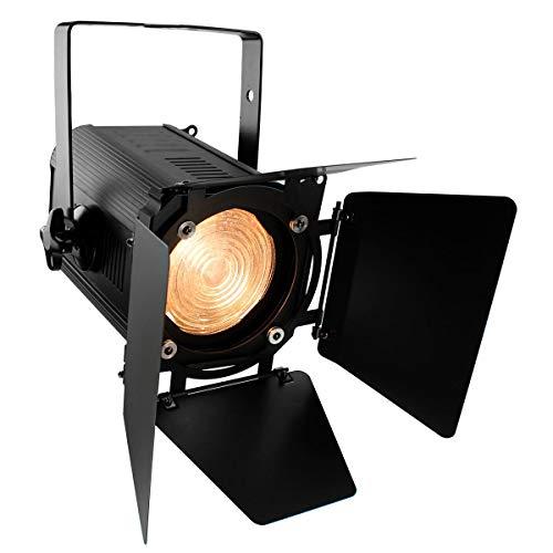 LED Theaterscheinwerfer FRESNEL 100W, dimmbar, WarmWeiss, DMX