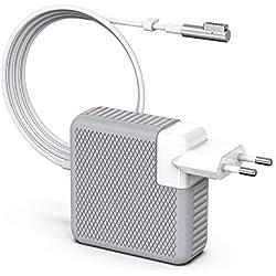 """Chargeur MacBook Pro, Chargeur Macbook, 85W Adaptateur Secteur avec connecteur MagSafe 1 (L) - Fonctionne avec 45W / 60W / 85W MacBooks -13"""" & 15"""" & 17"""" Pouces (Avant mi-2012)"""