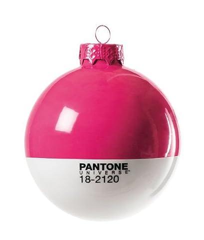 Christmas-Pantone® 18-2120 Glass Ball Ø Cm.8 - Honey Suckle