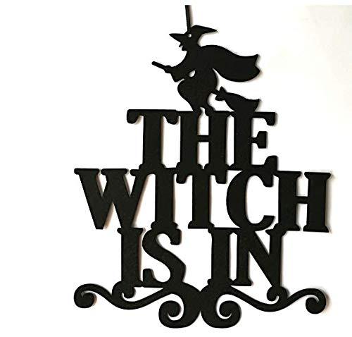 Halloween-Trick or Treat Hängeschild Dekoration Tür Wand Hängeschilder für Halloween Motto Party Schule Büro Home Supplies