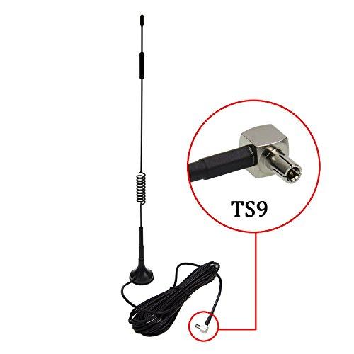 TS9 4G Antenne, LTE Antenne Wifi Signal Booster Verstärker Modem Adapter Netzwerk Empfänger / TS9 Stecker / 3m Kabel / 12 dBi Hochleistungs Gewinn ( Antenne TS9) Signal-verstärker-antenne