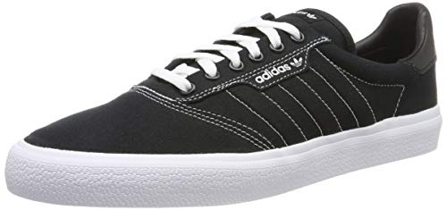 adidas 3Mc, Scarpe da Skateboard Unisex Adulto, Nero Core Black Ftwr White, 43 1/3 EU