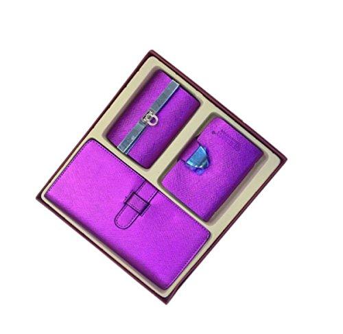 Eysee, Borsetta da polso donna Oro nero 18,5cm*9cm violett lila