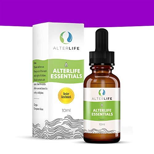 Alterlife Öl, Tropfen, wohltuende Wirkung auf Geist und Körper, vitalisierend, schmerzlindernd, ein Naturprodukt mit analytischem Zertifikat, Inhaltsstoffe aus Deutschland