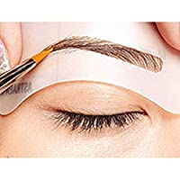 Funmazit Eyebrow Shapeing Kits, Eyebrow Stencil Eyebrow Shapeing Kits Templates Shaper Set of 8 C1-C8