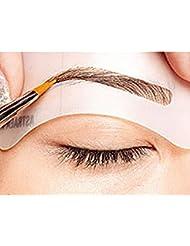 Eyebrow Stencil Eyebrow Shapeing Kits Templates Shaper Set of 8 C1-C8