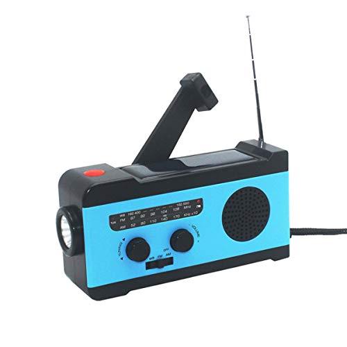 Taschenlampe Sos Alarm Lesen Lampe Und 2000 Mah Power Bank Moderater Preis Tragbare Außen Am Fm Radio 5-in-1 Notfall Solar Kurbel Radio