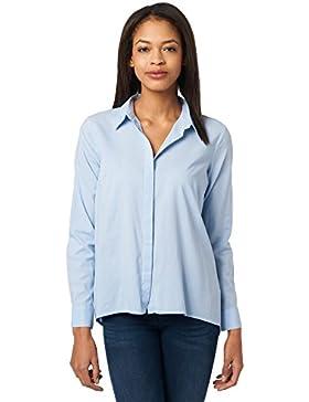 Tom Tailor für Frauen Shirt / Blouse Bluse mit feiner Struktur