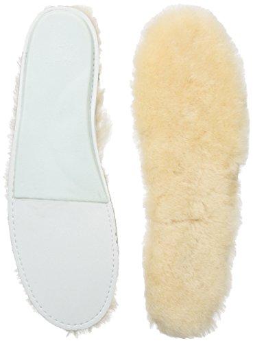 UGG Sheepskin Insoles 9501, Damen Einlegesohlen, Beige (WHITE WHITE), EU 39 (US 8) (Einlegesohlen Zubehör Damen)