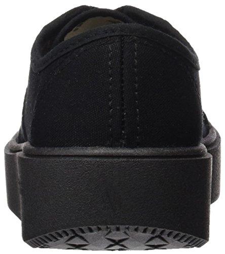 VictoriaBasket Lona Piso Negro, Sneakers Unisex - Adulto Nero (Negro)
