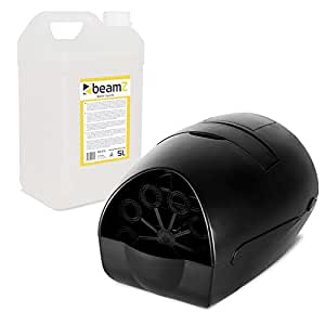 BeamZ B100 Machine à bulles de savon portable 140ml