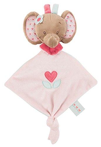 Nattou Charlotte y Rose Mini Doudou Consolador Rose el elefante
