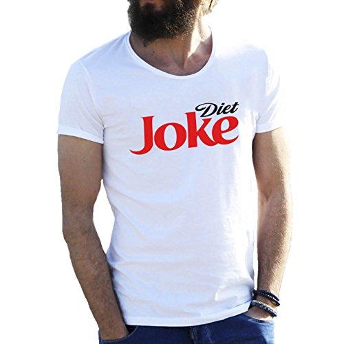 diet-joke-fun-coke-cola-weisse-herren-t-shirt-3x-large