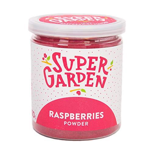 Supergarden polvo de bayas de verano liofilizado (Polvo de frambuesas)
