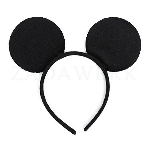 ZADAWERK - Haarreifen - Minnie/Mickey Mouse -